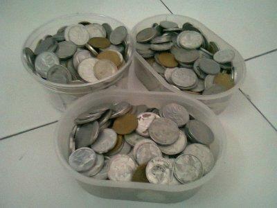 Hobi mengumpulkan uang receh kembalian